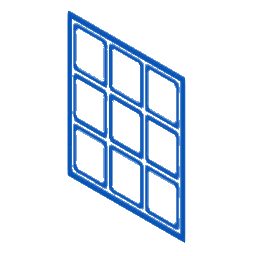 Curtain wall systems Icon